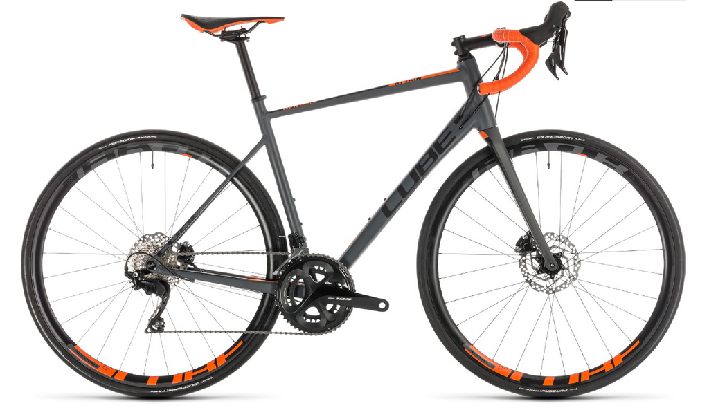 CUBE Attain SL Disc grey'n'orange 2019