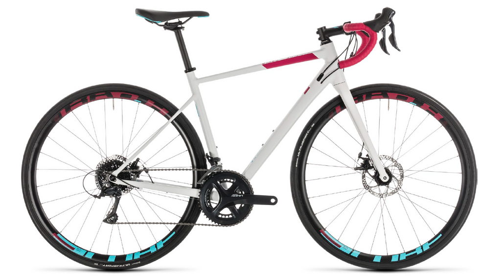 CUBE Axial WS Pro Disc white'n'berry 2019