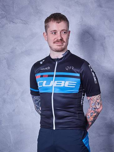 CUBE TEAMLINE Jersey Competition S/Sblack´n´blue