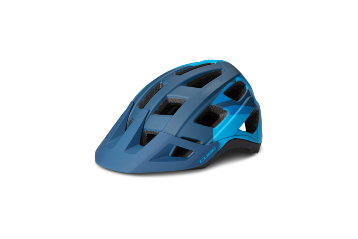 Casco BADGER Blue Camo