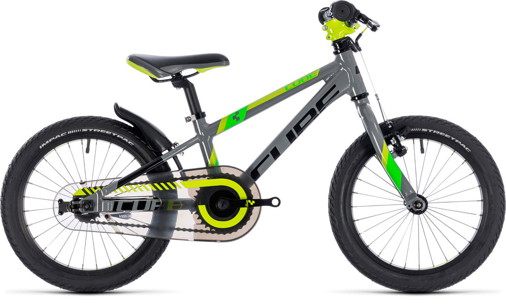 CUBE kid 160 grey'n'green'n'kiwi 2020 16""
