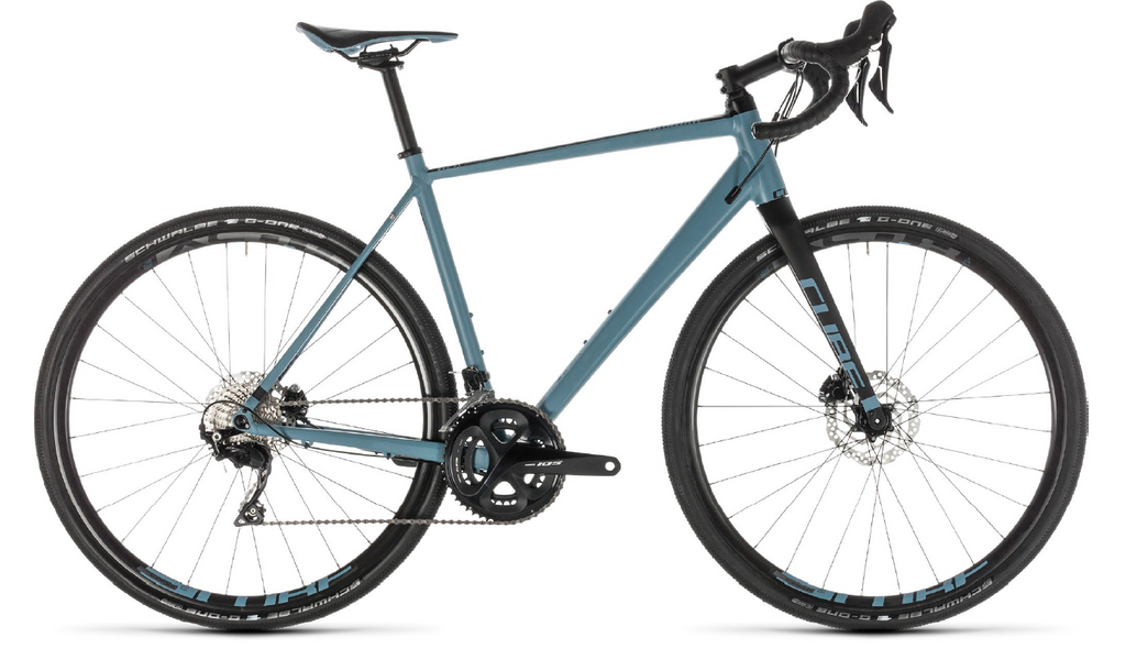 CUBE Nuroad Race blue'n'black 2019