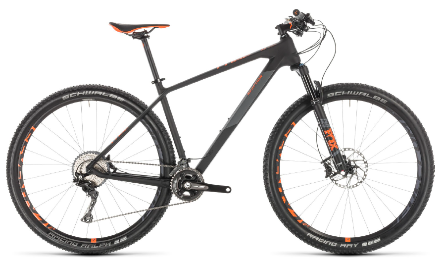 CUBE Reaction C:62 Race carbon'n'orange 2019 - 29
