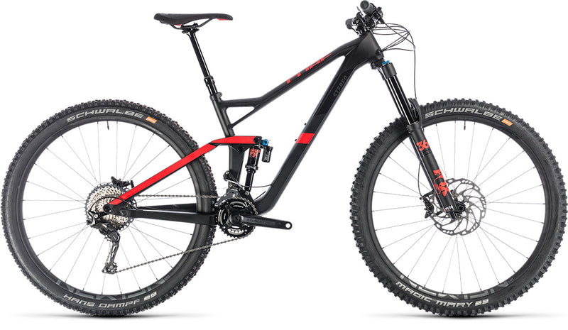 CUBE Stereo 150 C:62 Race 29 carbon'n'red 2019