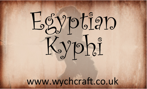 Egyptian Kyphi Loose Incense