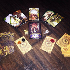 Dark Moon Tarot Spread - Full moon Tarot Spread - Tarot card reading