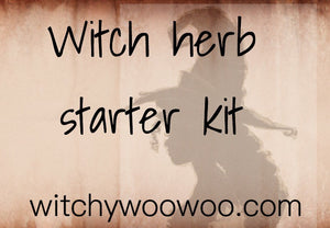 Witch herb starter kit