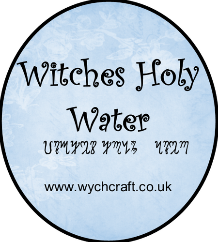 Witches Holy Water
