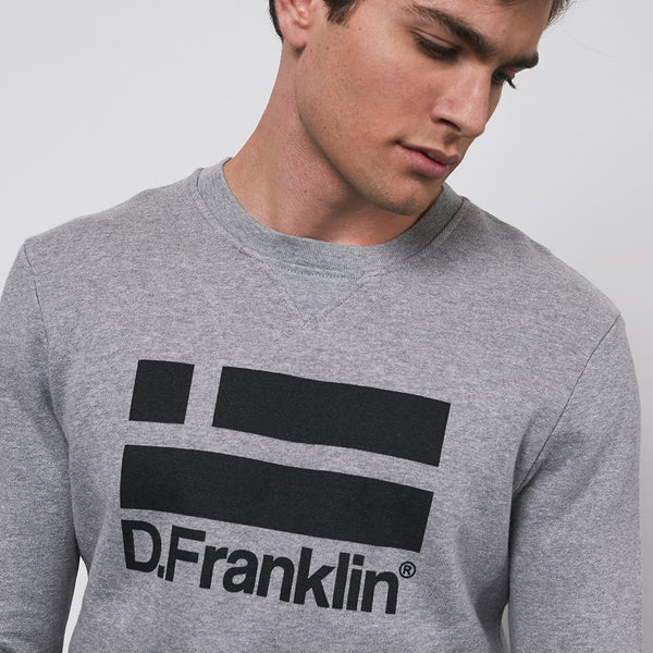 Sweatshirt Logo Black / Grey