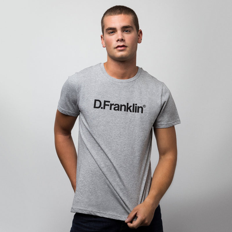 T-shirt DF Log Grey