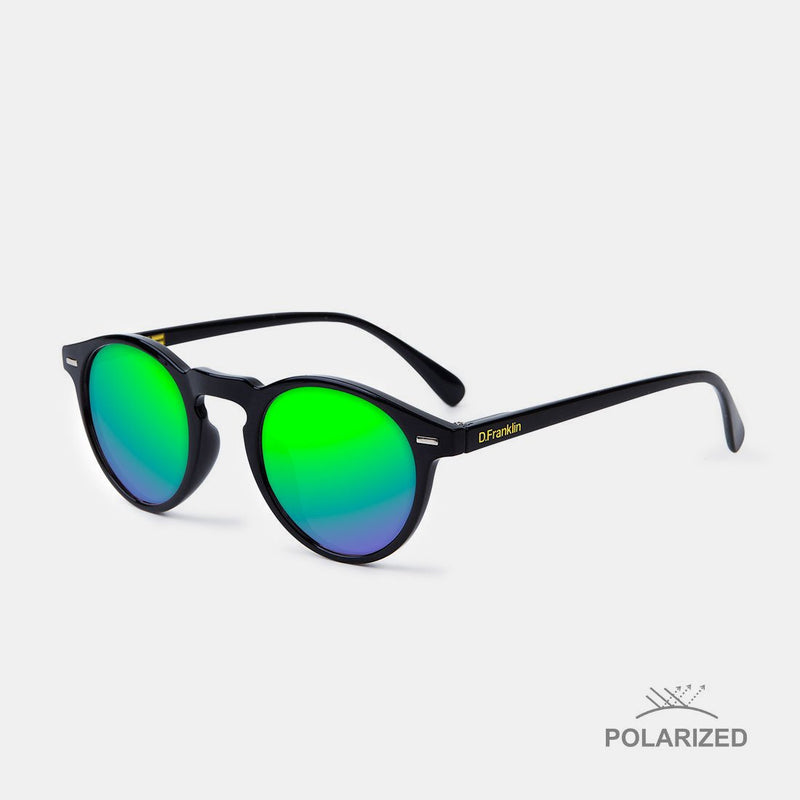 Ultra Light Black / Green polarized