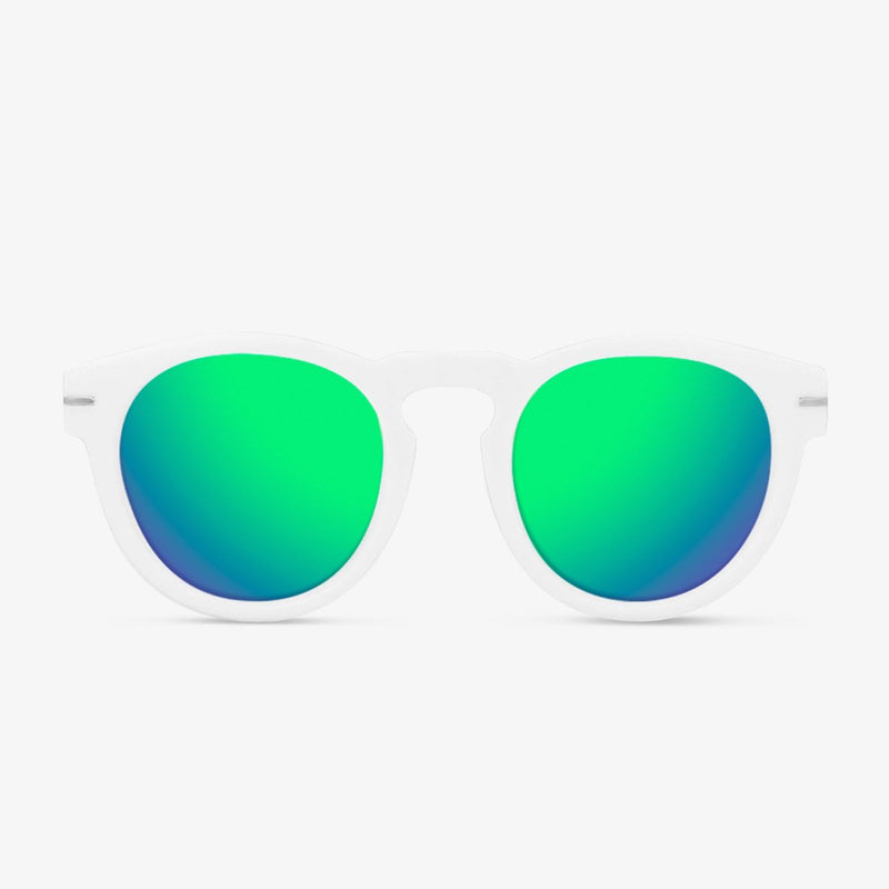Rem White / Green Polarized