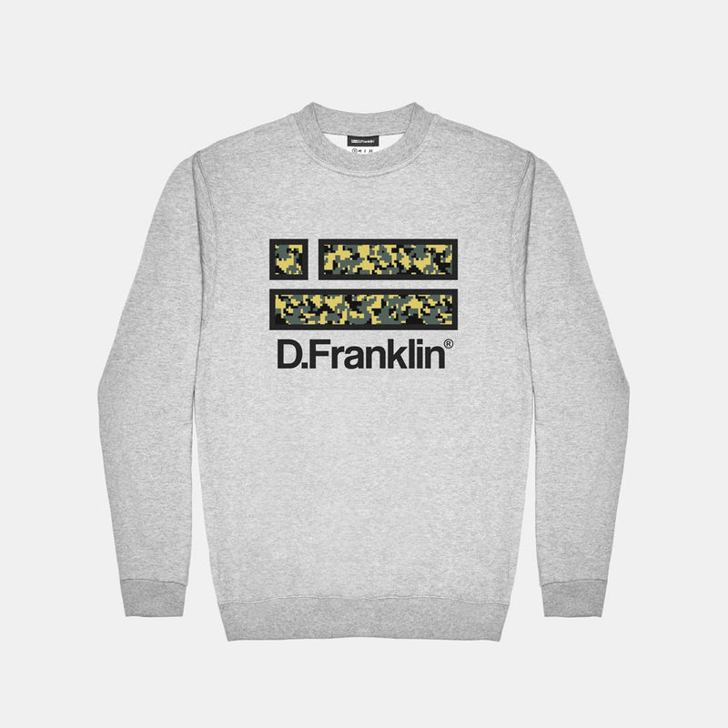 Sweatshirt Camo Grey