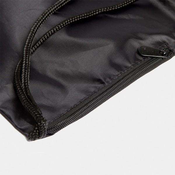 Jupiter Drawstring Bag Black