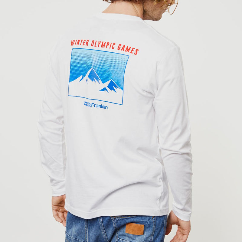 Canadian Long Sleeve T-Shirt White