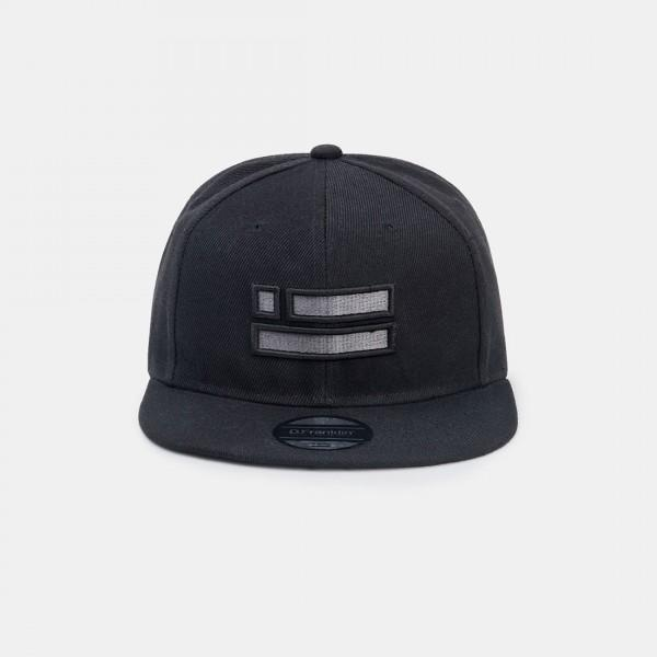 Black Chrome Snapback