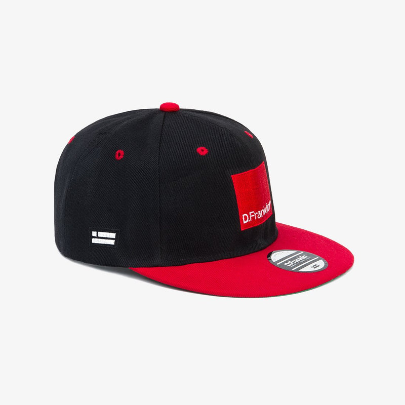 Black-Red Blend Snapback
