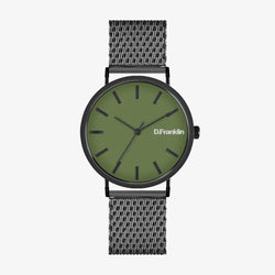 Verona Gunmetal / Dark Green