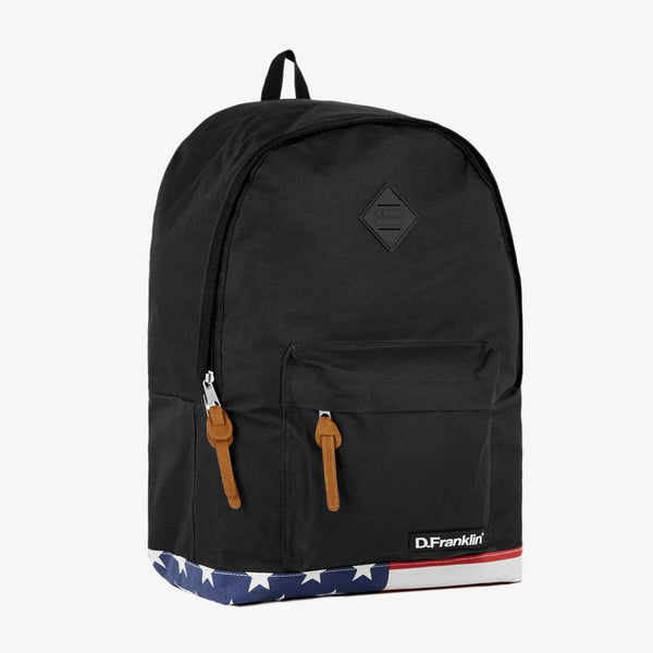 Flag Backback Black