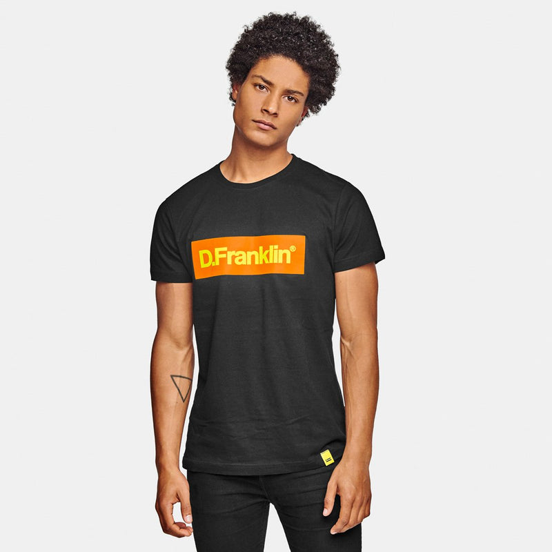 Orange / Yellow Rec Black Tee