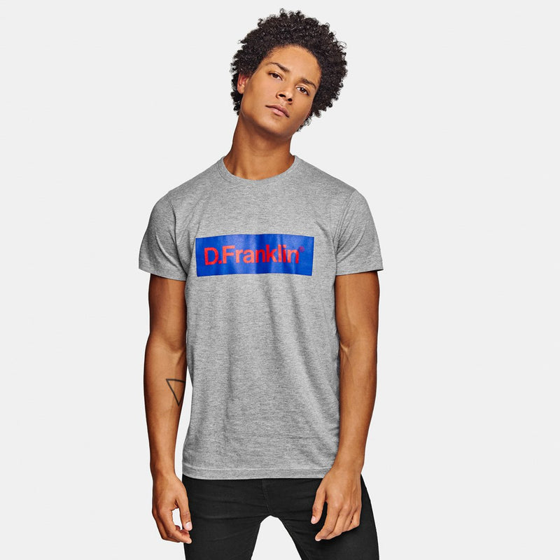 Blue / Red Rec Grey Tee