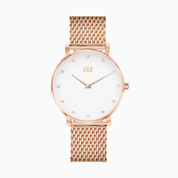 Dreamy Rose Gold / White