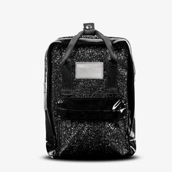 Abby Backpack Glitter Silver