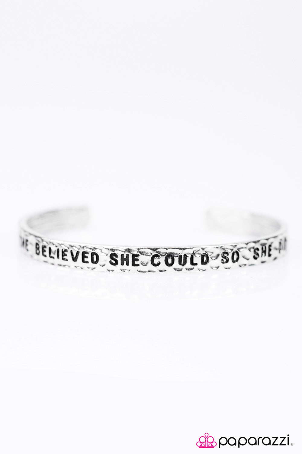 She Believed She Could - Silver