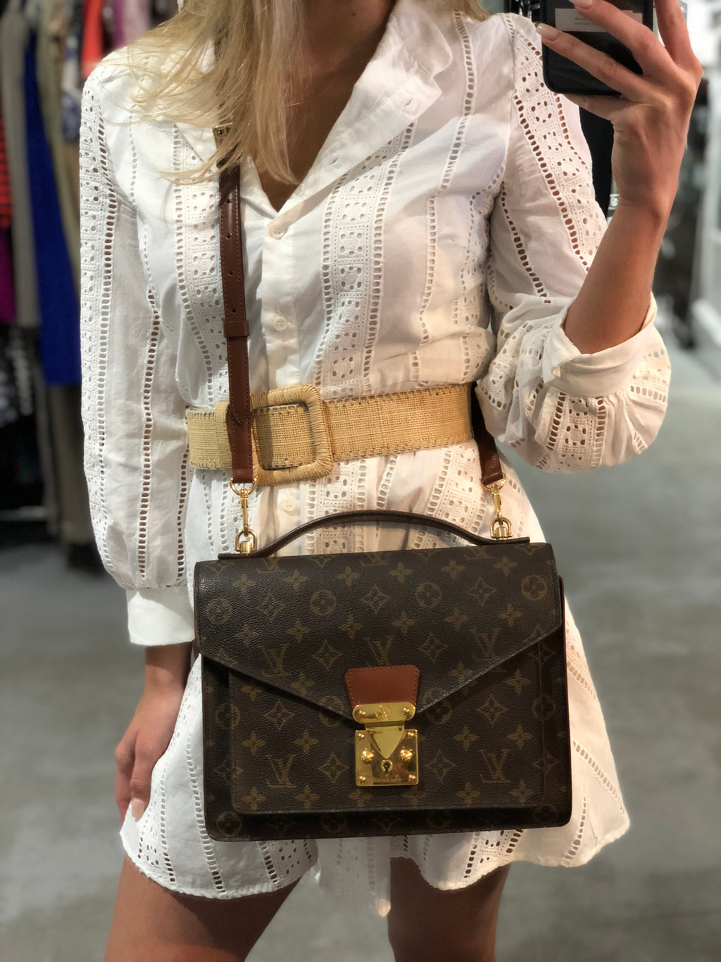 Louis Vuitton Vintage Monceau 28