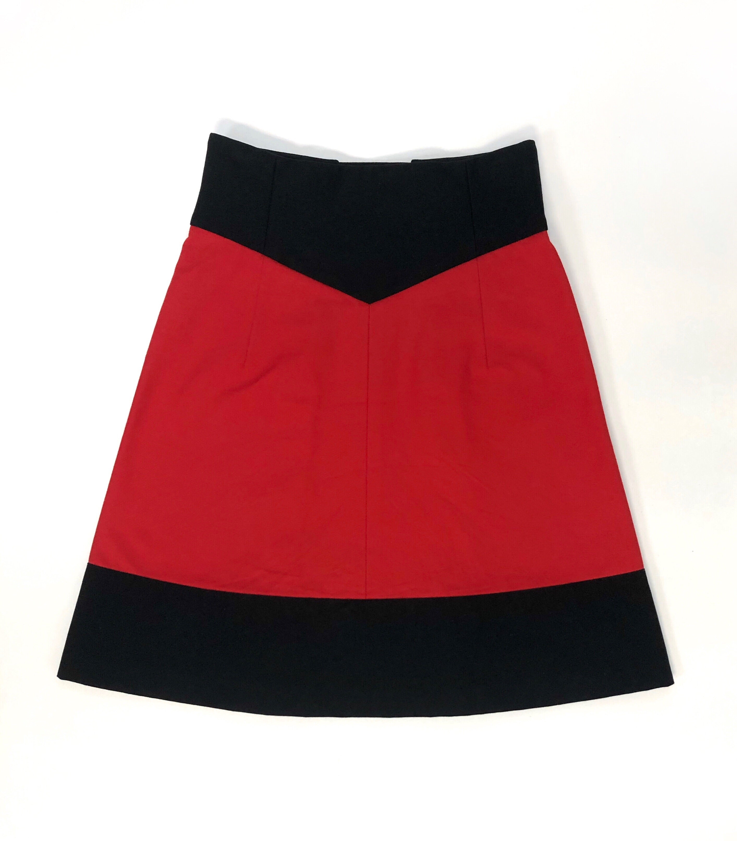 Yves Saint Laurent Nautical Skirt