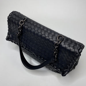 Bottega Veneta Black Olimpia Short Handle Bag