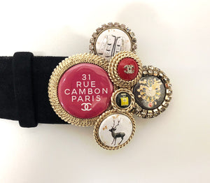 Chanel Rue Cambon Button Belt