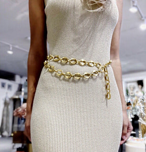 Chanel Vintage Gold Chain Belt