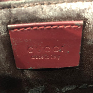 Gucci Red Jelly Tote