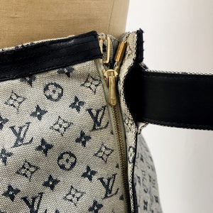 Louis Vuitton blue monogram mini skirt