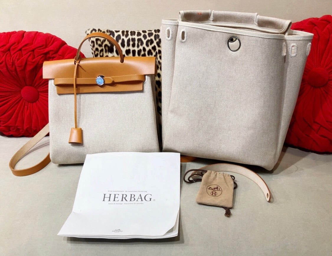 Hermès Herbag Backpack full set