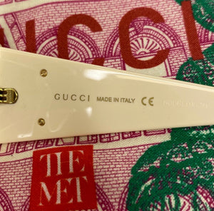 Gucci Hollywood Forever Teardrop Sunglasses
