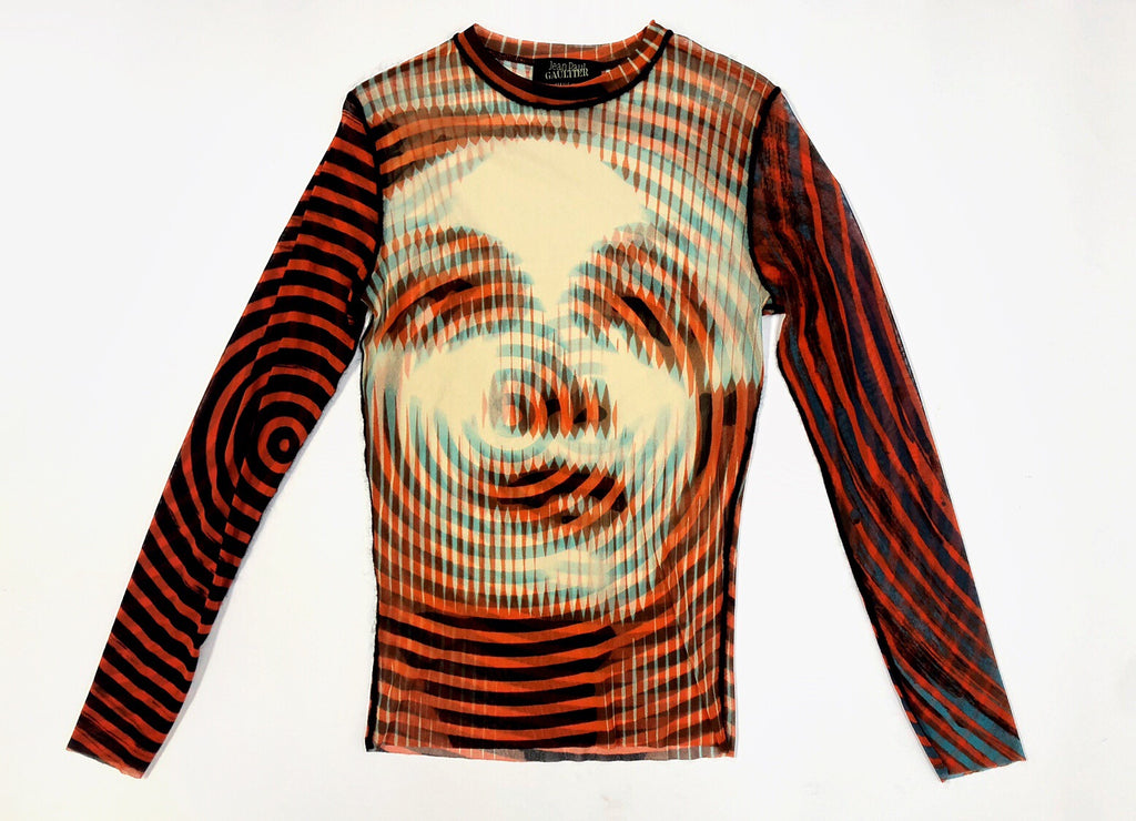 Jean Paul Gaultier Print Top