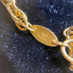 Chanel 1984 Magnifying Glass Pendant Necklace