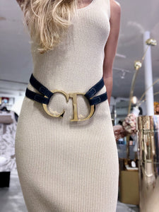 Christian Dior Massive Logo Belt