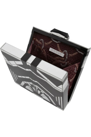 Kotur Art Deco Mirror Box Clutch