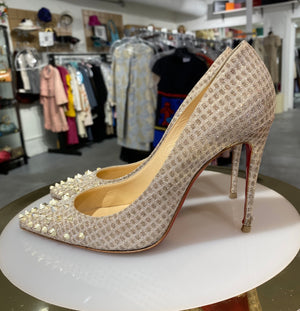 Christian Louboutin Studded Pigalle 100