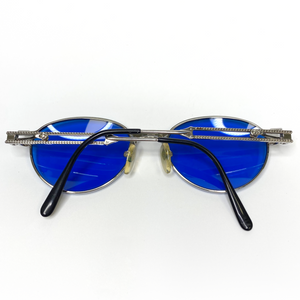 Jean Paul Gaultier Blue Tinted 56-4172 Sunglasses