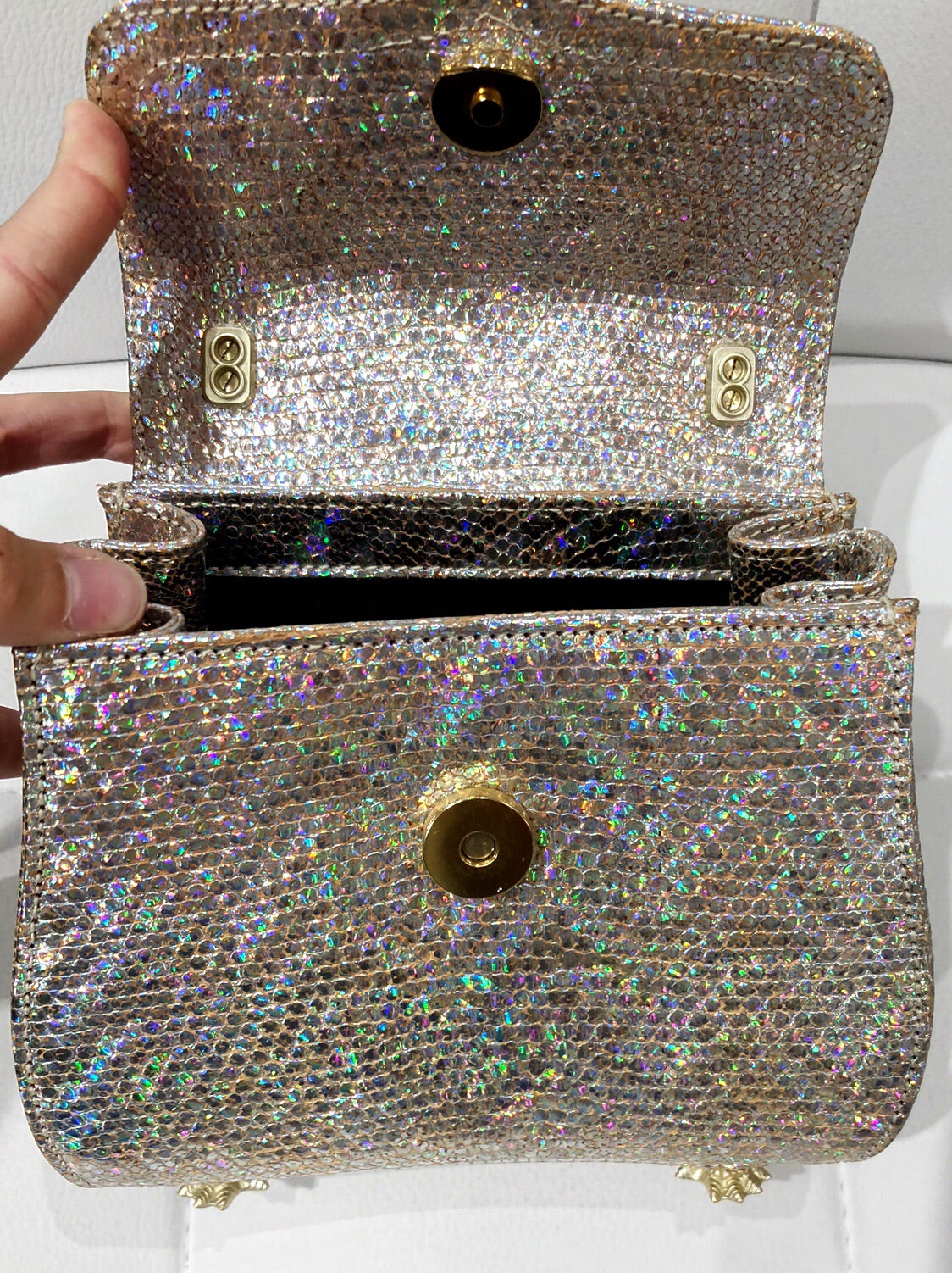 Sale Pending Barry Kieselstein-Cord holographic Trophy bag
