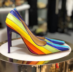 Dolce & Gabbana Rainbow Pumps