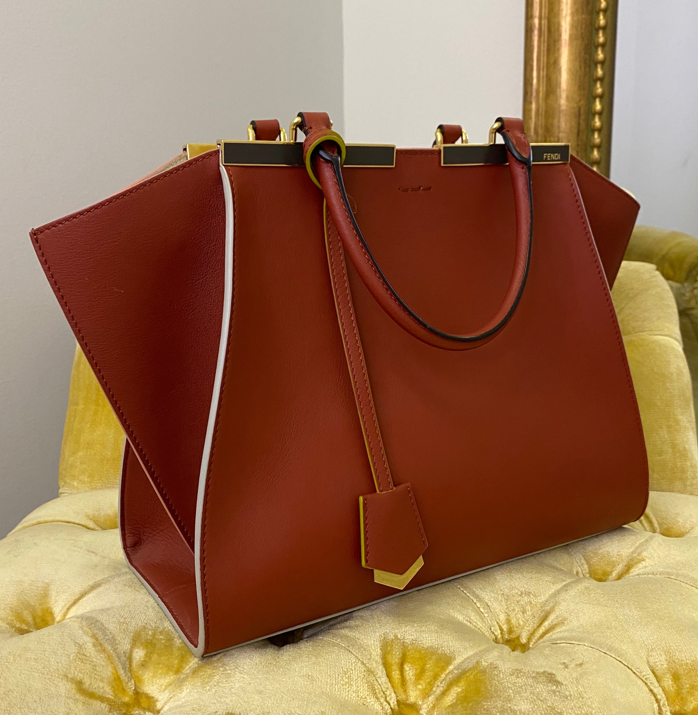 Fendi Crimson Medium 3Jours Bag