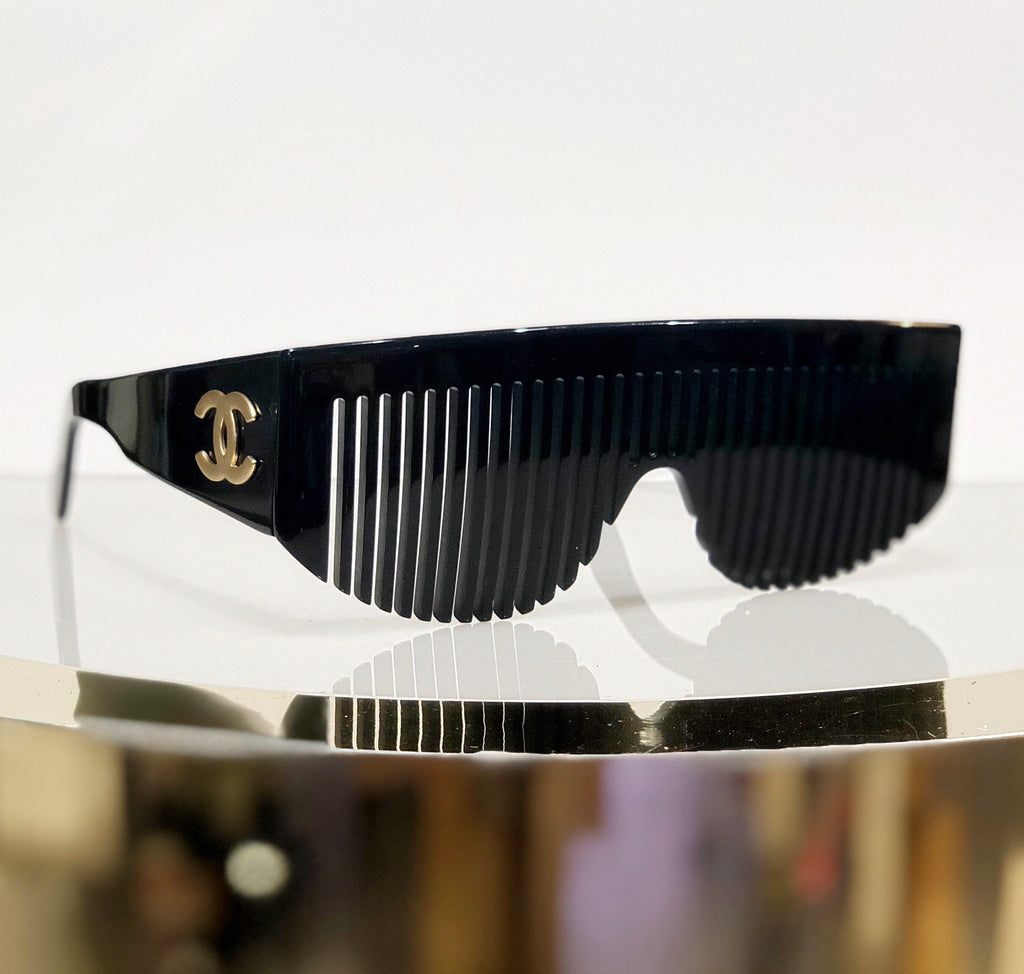 Chanel 1993 Runway Comb Sunglasses