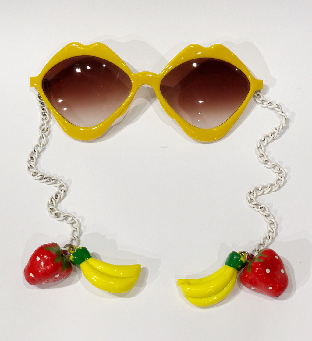 Vintage Fruity Chain Sunglasses