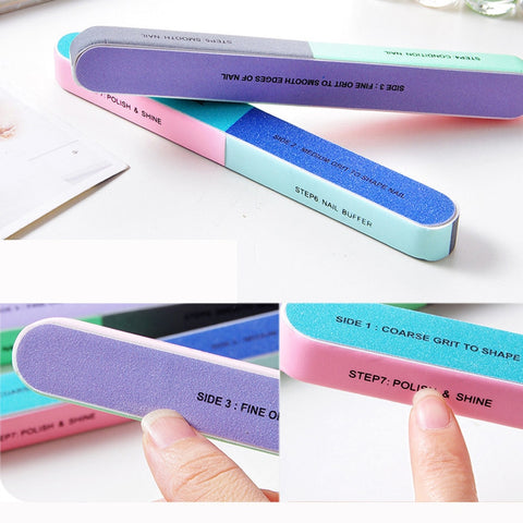 7 Step Nail File - [variants]