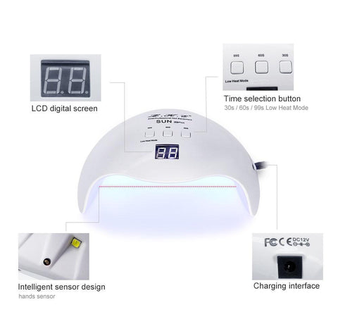 Image of Pro LED Nail Curing Lamp - [variants]